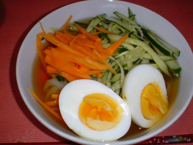 夏野菜の冷たい煮物