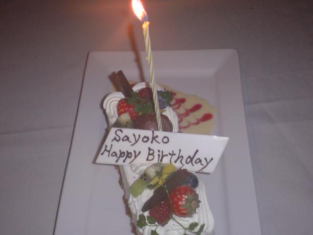 Happy Birthday終了☆